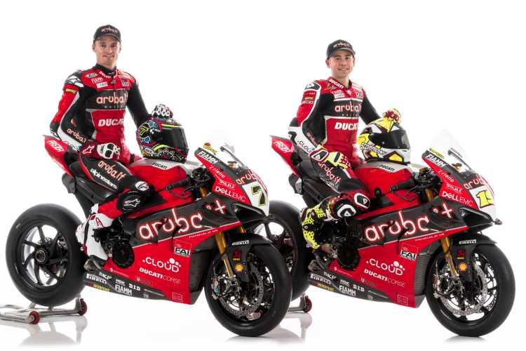 Presentado el equipo Ducati SBK 2019 con Alvaro Bautista y Chaz Davies