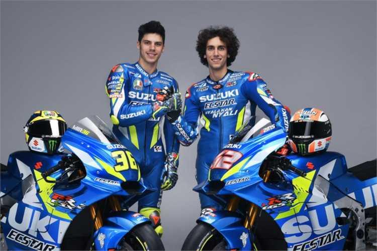 Presentado el equipo Suzuki MotoGP 2019 de Rins y Mir