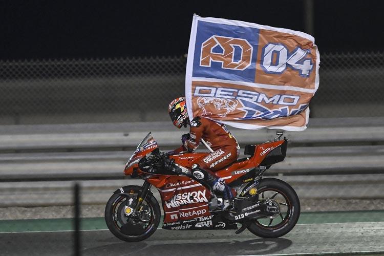 Ducati gana el 'caso spoiler': la victoria de Dovizioso en Qatar es definitiva