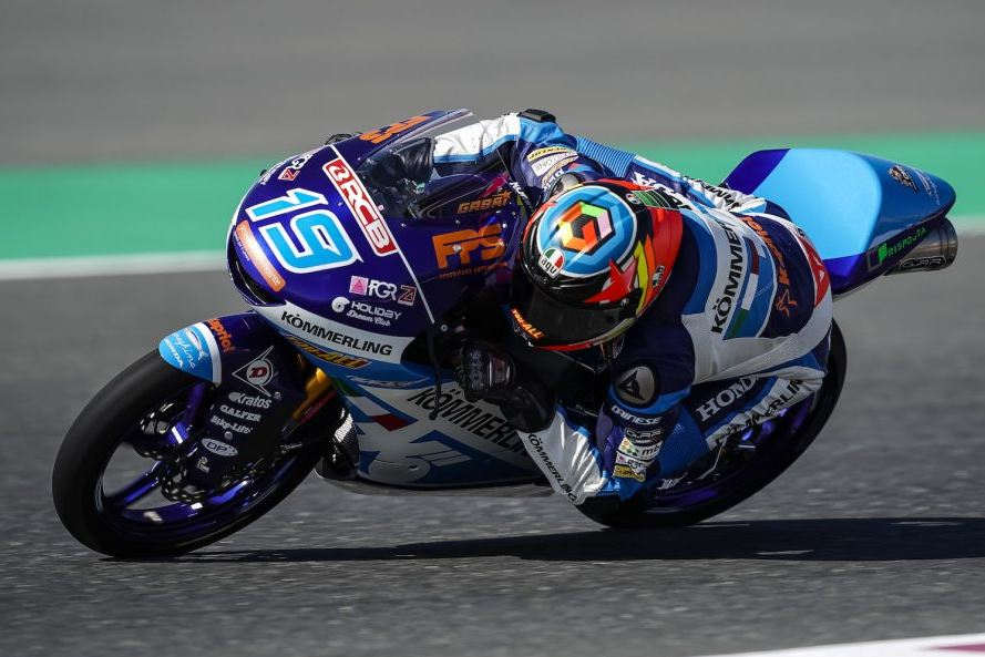 Gabriel Rodrigo ha sido el cuarto más rápido en el primer día en Argentina.