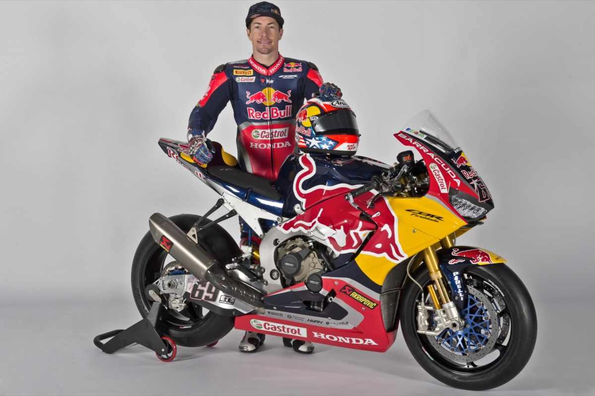 moto de Nicky Hayden del Mundial de SBK