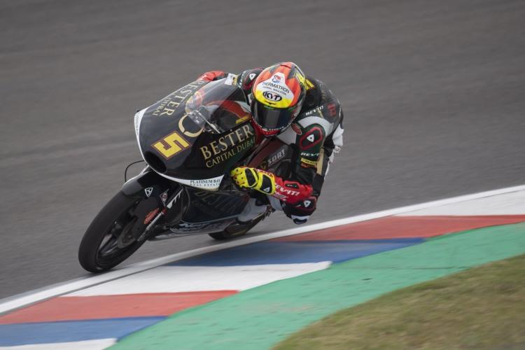 Jaume Masià logra su primera pole en el campeonato del mundo