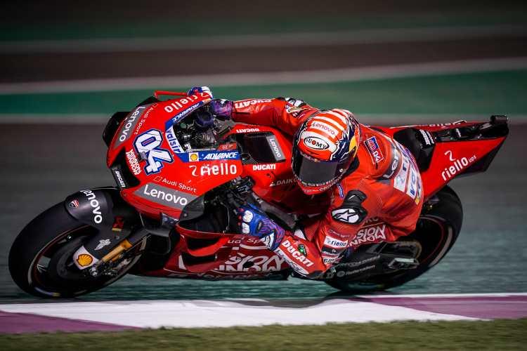 Andrea Dovizioso vence una intensa carrera de MotoGP en Qatar