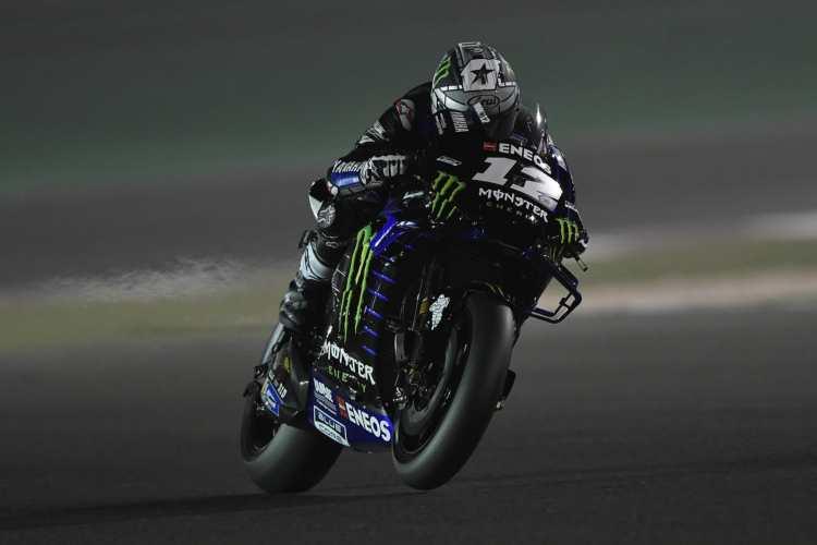 Pole de récord de Maverick Viñales en el GP de Qatar