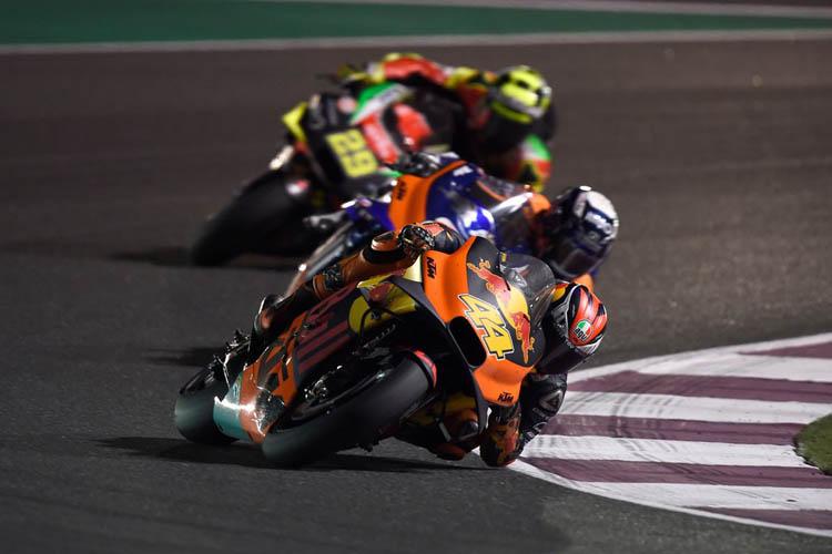 KTM, fiel a su ADN en MotoGP: chasis tubular de acero y suspensiones WP