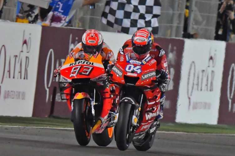 La victoria de Andrea Dovizioso en Qatar, pendiente de la reclamación.