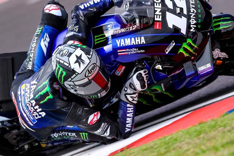 Maverick Viñales ha terminado segundo en la clasificación del GP de Argentina.