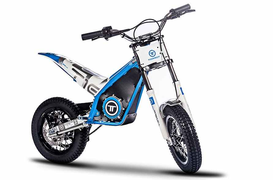 Moto eléctrica de trial para niños -TORROT TRIAL ONE