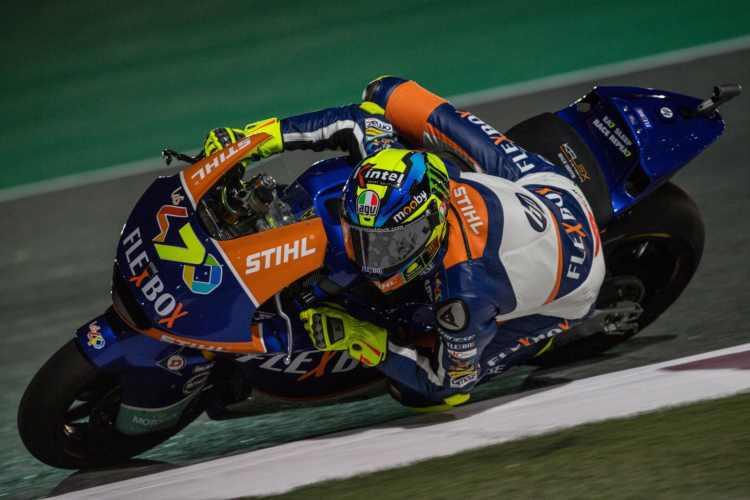Lorenzo Baldasarri se lleva la victoria de Moto2 en Qatar