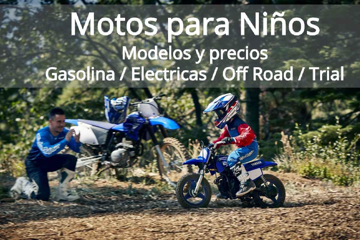 Las 5 mejores motos para niños – Gasolina y eléctricas