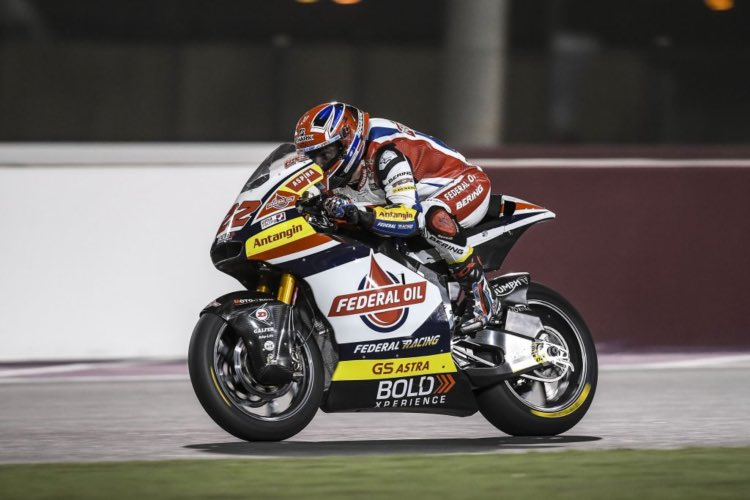 Sam Lowes en Qatar 2019