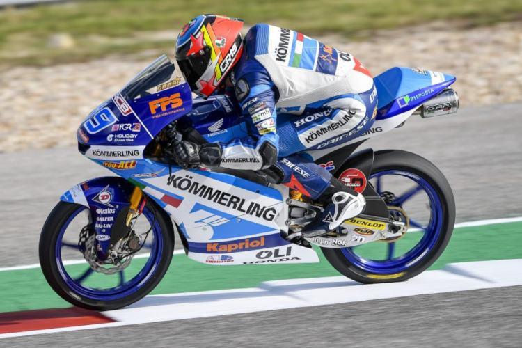 Rodrigo logró en el GP de Cataluña del año pasado su primero y único podio