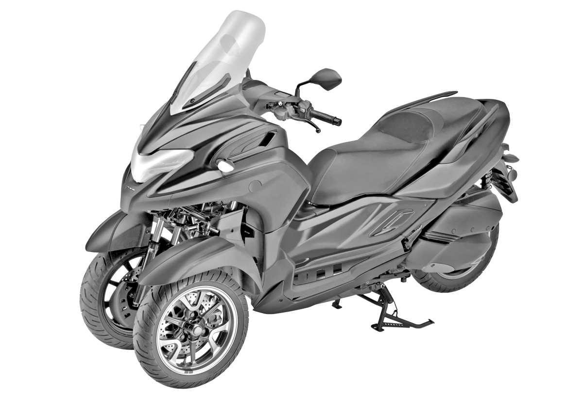 Yamaha Tricity 300 2020 – El scooter de tres ruedas para el carnet A2