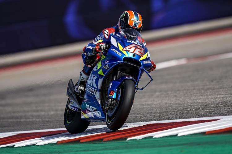 Álex Rins ha conquistado su primer trunfo en MotoGP con la Suzuki GSX-RR.