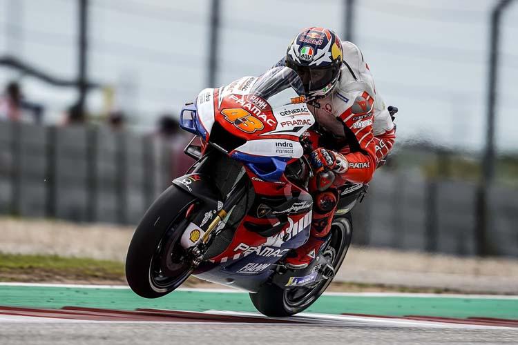Jack Miller ha cerrado el podio en Austin. El australiano ha sido el mejor piloto de Ducati.