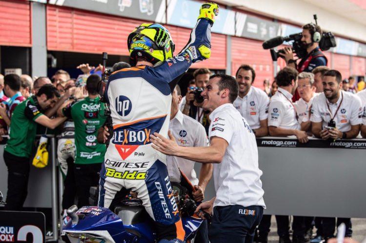 Lorenzo Baldassarri, ganador del GP de Argentina de Moto2 2019