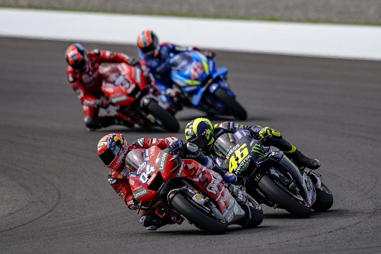 8af9c037a25 Andrea Dovizioso y Valentino Rossi no fueron alternativa real a Marc  Márquez en Argentina.