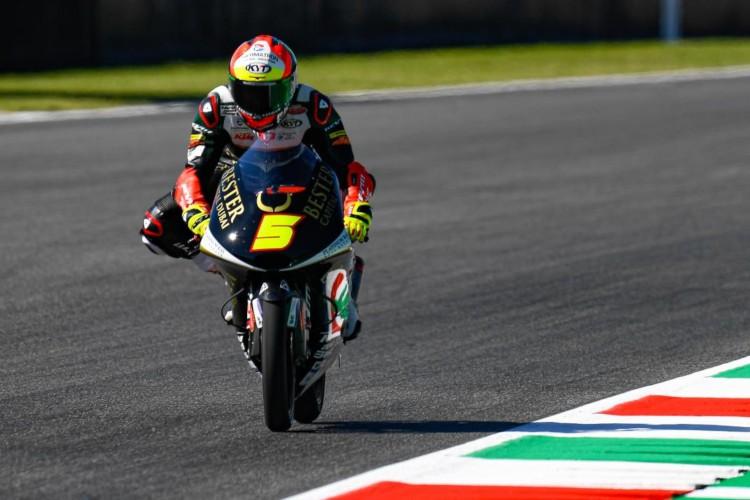 Jaume Masià ha cruzado la meta a 78 milésimas del vencedor Tony Arbolino | © motogp.com