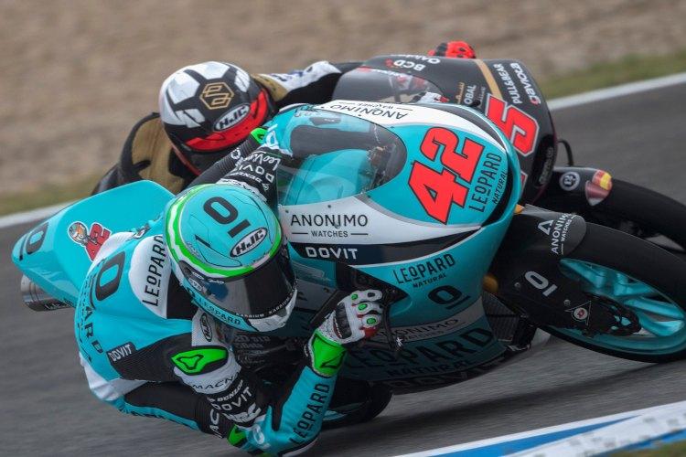 Ramírez y Arenas descorcharon el champán en el último Gran Premio de Francia