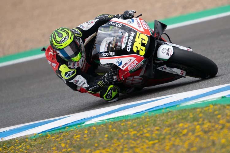 Cal Crutchlow ha finalizado con el segundo mejor tiempo del test de MotoGP en Jerez.