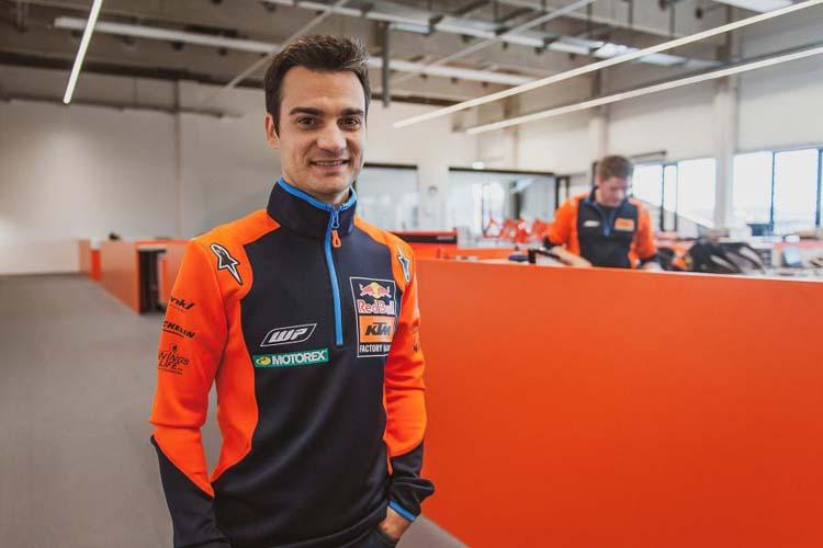 Dani Pedrosa no se subirá a la KTM RC16 en el test que se disputa en Jerez tras el GP de España.