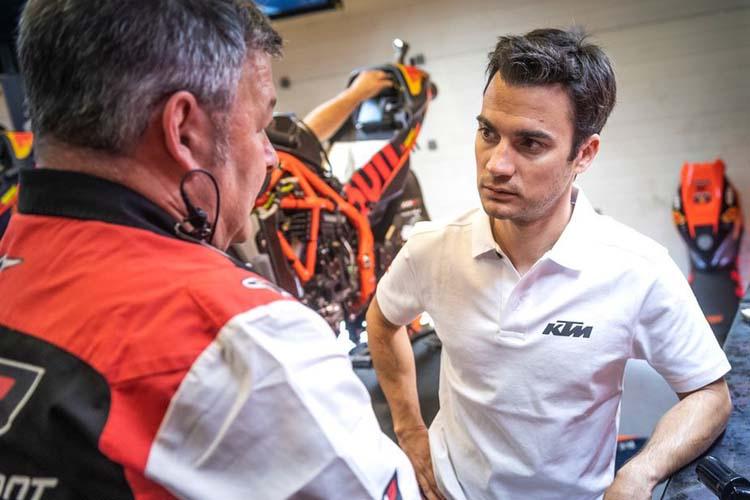 Pese a esta toma de contacto, Dani Pedrosa comenzará a rodar al 100% en el test posterior del GP de Catalunya.