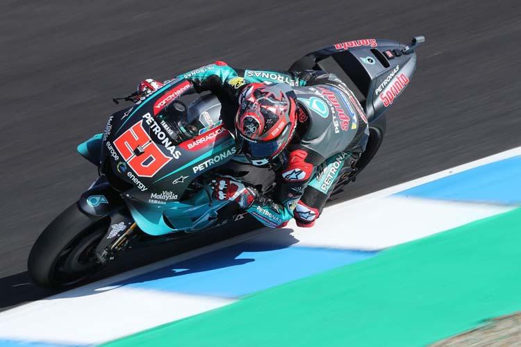 Fabio Quartararo mantiene su idilio con Jerez con su primera pole en MotoGP