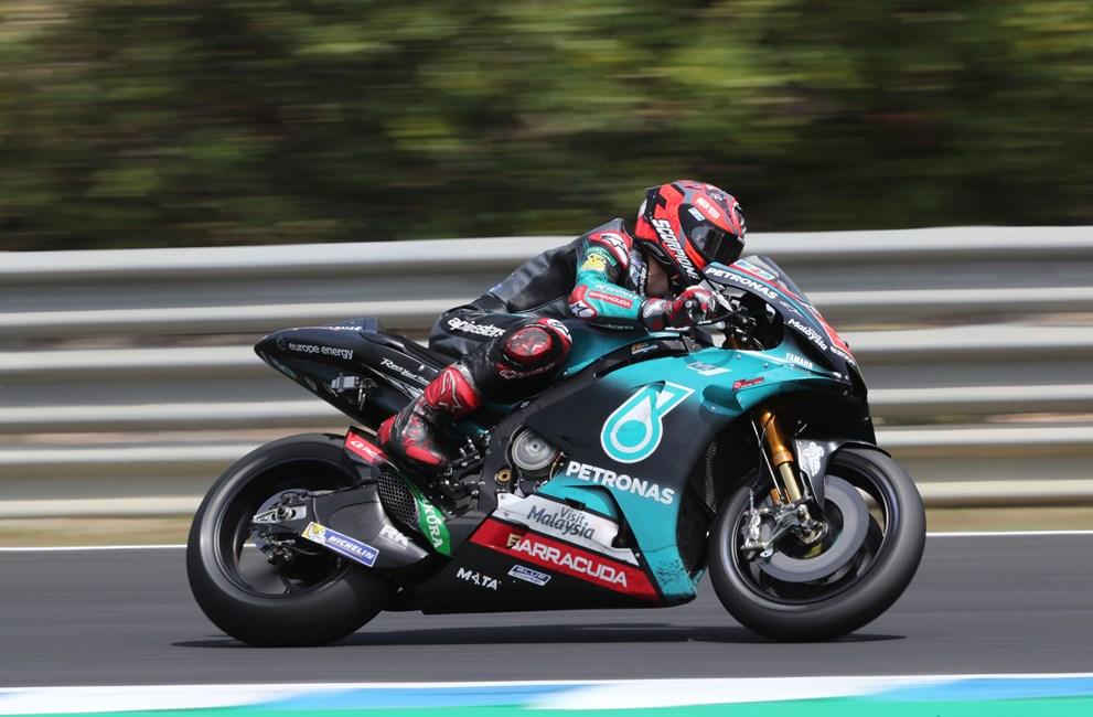 Fabio Quartararo ha marcado la referencia en el FP1 del GP de Francia de MotoGP.