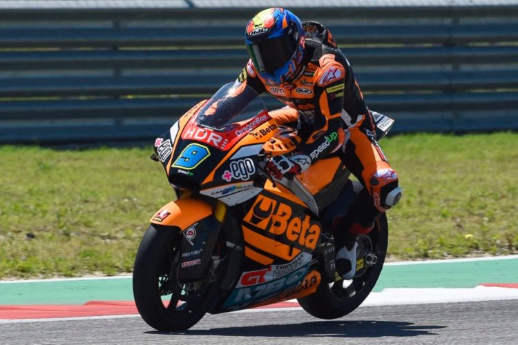 Jorge Navarro, Moto2 2019