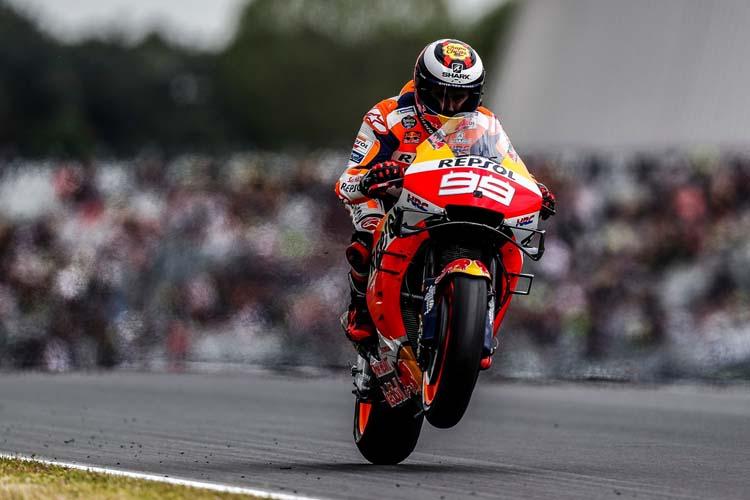 Jorge Lorenzo optimista para el GP de Cataluña tras su visita a Japón