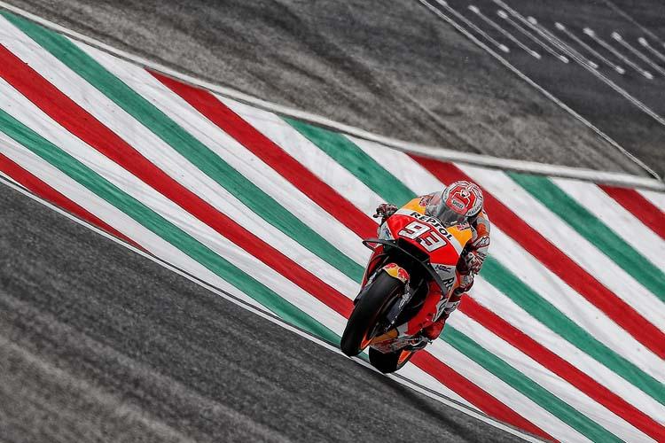 Marc Márquez llega al frente de la clasificación de MotoGP al GP de Italia.