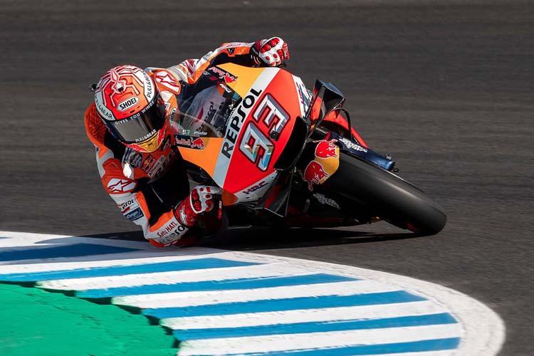 Marc Márquez ha terminado segundo en la sesión de clasificación del GP de España de MotoGP.
