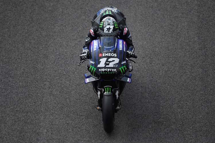 Maverick Viñales ha cerrado el primer día del GP de Francia de MotoGP en cabeza.