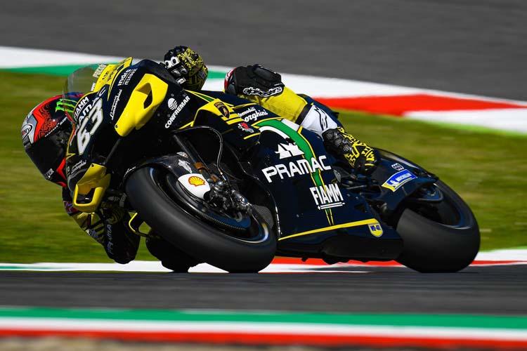 Francesco Bagnaia ha dado la sorpresa en el FP2 y domina su primer entrenamiento en MotoGP.