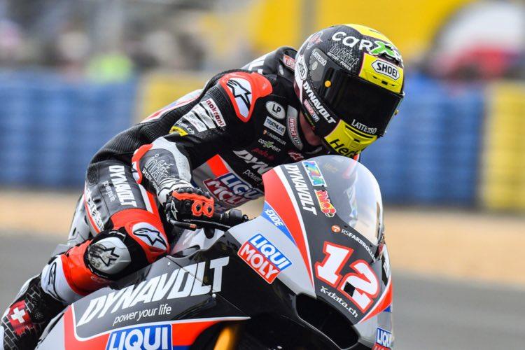 Thomas Lüthi, Moto2 2019