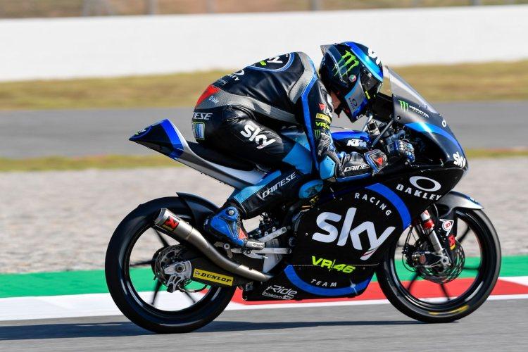 Celestino Vietti lleva tres podios desde que debutó en el campeonato hace 11 carreras | © motogp.com