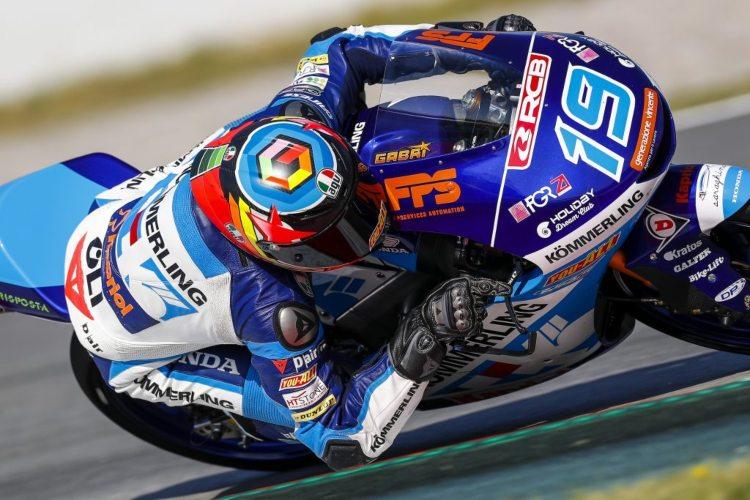 Gabriel Rodrigo continuará en la estructura del Gresini Racing de Moto3 en 2020