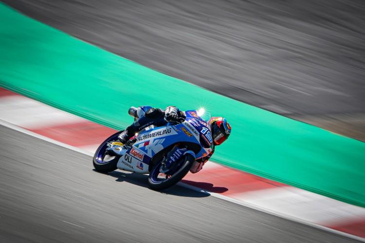 Gabriel Rodrigo ha conseguido en Montmeló su primera 'pole' como piloto de Honda