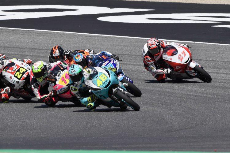 Dalla Porta marcha segundo en la clasificación general a tres puntos de Arón Canet