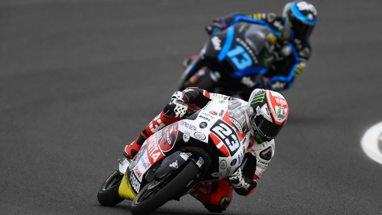 Antonelli debutó en la categoría en 2012, Vietti lo hizo hace menos de un año