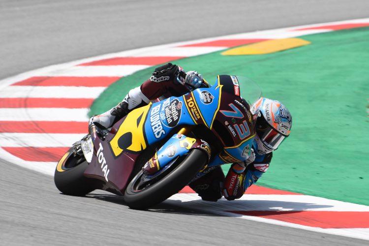 Álex Márquez gana en Barcelona y coge el liderato de Moto2