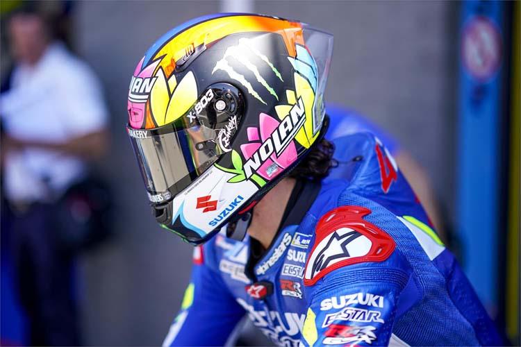 Álex Rins ha estrenado caso en el TT Assen, aunque ha tenido que pasar por la Q1 con la Suzuki GSX-RR.