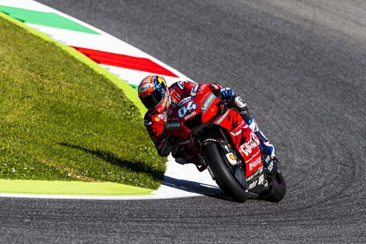 Andrea Dovizioso ha tenido que pasar por la Q1 para poder luchar por la pole del GP de Italia.