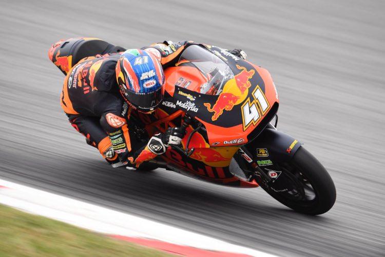 Binder, el más rápido de la primera jornada de libres de Moto2 en Assen