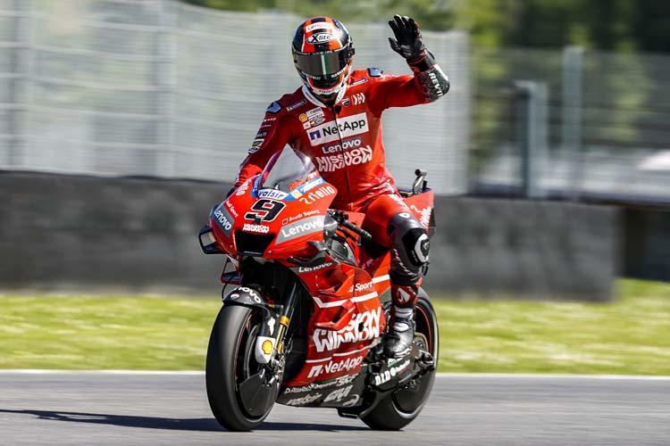Danilo Petrucci ha logrado su primera victoria en MotoGP, además de cosechar su segundo podio consecutivo.