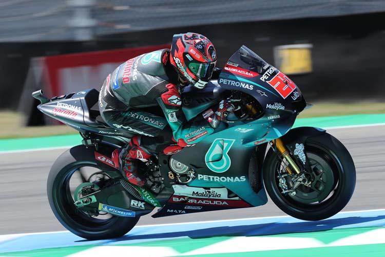 Fabio Quartararo ha cerrado el podio en el TT Assen, sumando su segundo podio consecutivo en MotoGP.