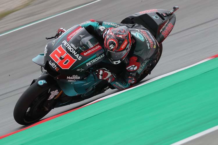 Fabio Quartararo ha logrado su primer podio en MotoGP en Barcelona.