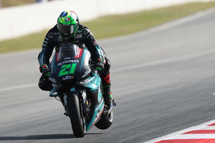 Franco Morbidelli y su compañero Fabio Quartararo están siendo dos de las sensaciones de la temporada 2019 de MotoGP.