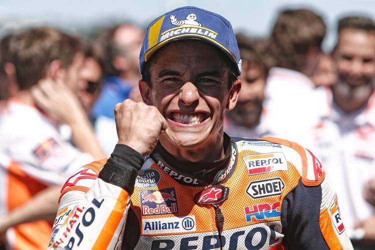 Marc Márquez llega como líder destacado de MotoGP 2019 al TT Assen.