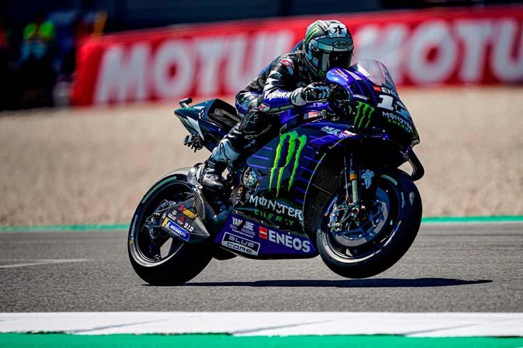 Maverick Viñales ha cerrado el doblete de Yamaha con el segundo mejor tiempo en el TT Assen.
